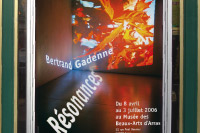 »Bertrand Gadenne, Resonances«